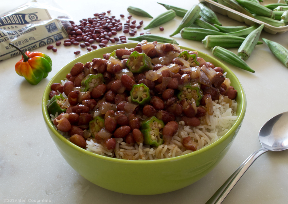 red beans and rice with okra